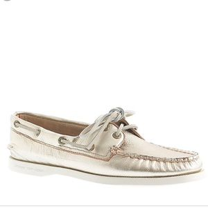 Sperry for J.Crew boat shoes